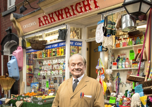 The art of shopkeeping remains largely the same - though the platform used may vary! Picture ©BBC.