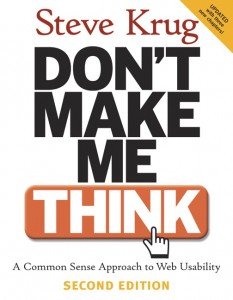 Don't Make Me Think (Second Edition, front cover image)