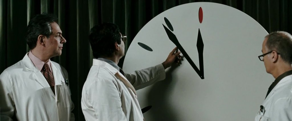 Doomsday Clock (image copyright: Warner Bros. / Paramount Pictures)